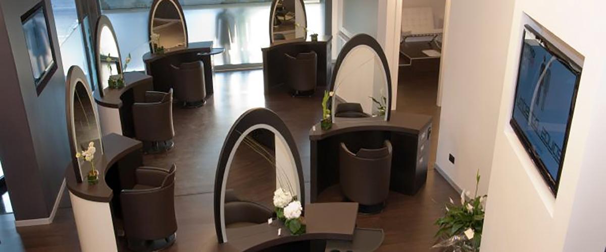 arredamento negozio parrucchiere Castelfranco Veneto